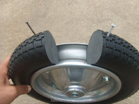Small PU Foam Wheel 3.00-8 With Bearing