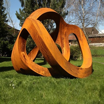 Corten Steel Outdoor Large Sculptures
