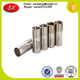 Precision CNC Machining Stainless Steel Extended Choke Tubes Black Coated
