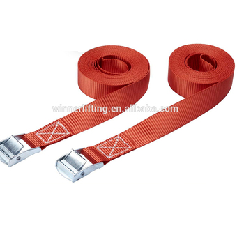 Durable Cam Buckle Straps For Cargo Fixing