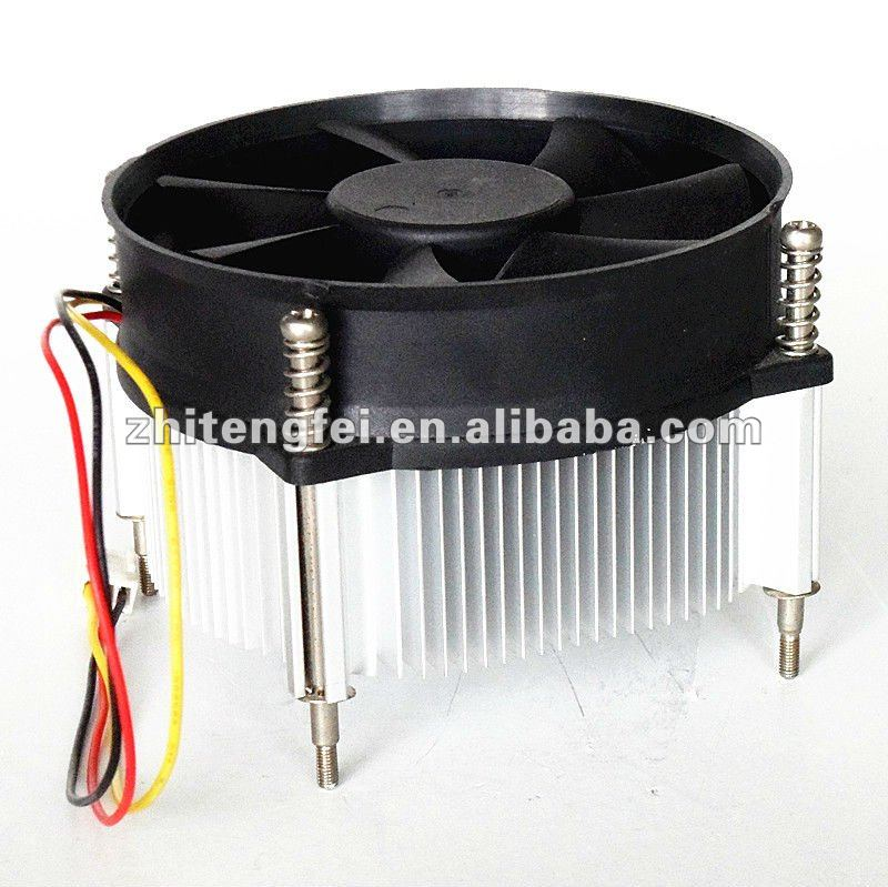low noise and high speed 60mm cpu heatsink