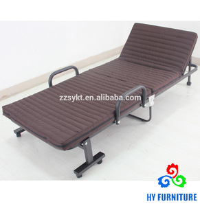 Latest Modern Design European Folding Single Sofa Cum Bed with mattress for sale