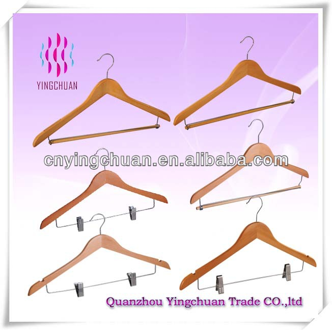 Hotsale wooden clothes hanger parts