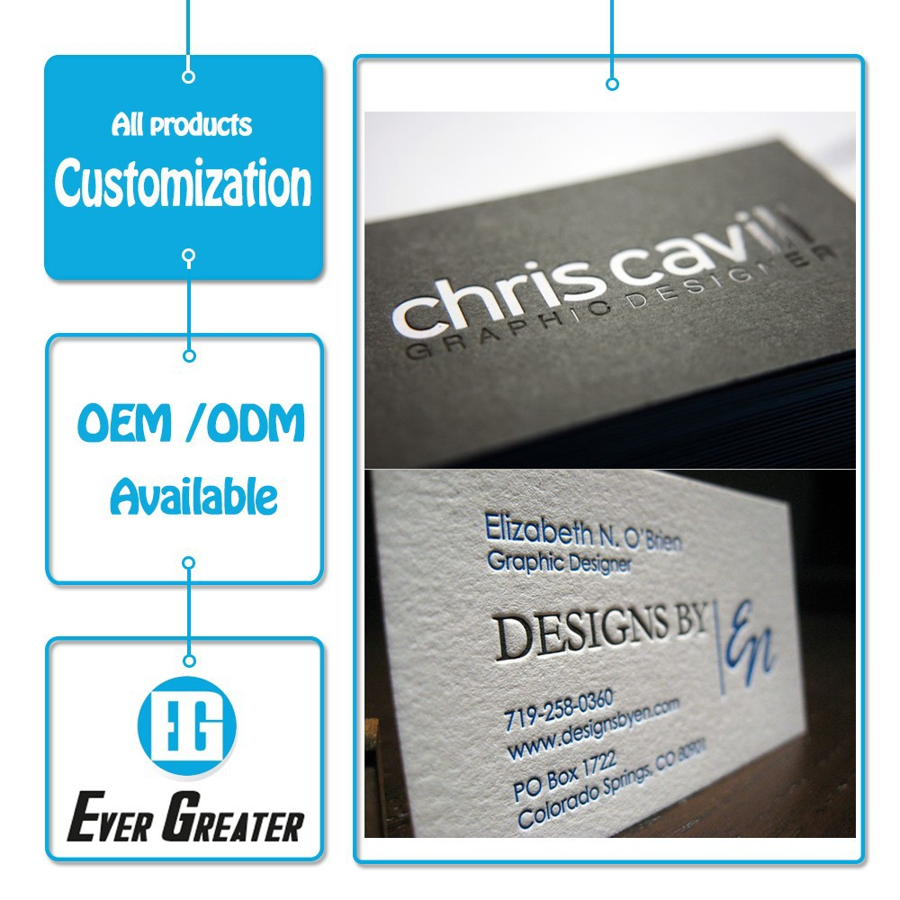 Custom business card, embossed business card,business card printing