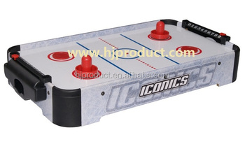 Portable Mini Air Hockey Table Game,small Hockey Table With Pusher And Puck