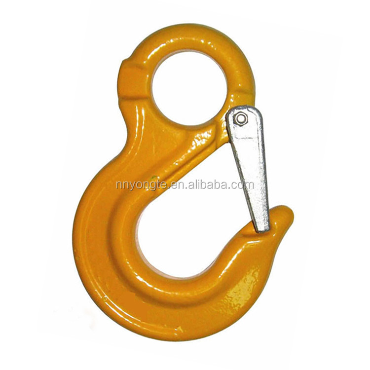 12.5T G80 steel clevis lifting hook