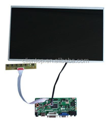 "LCD controller set, NT68676 HDMI DVI VGA LCD driver pcb boards 14"" LP140WH4-TLA Laptop lcd display 1366*768"