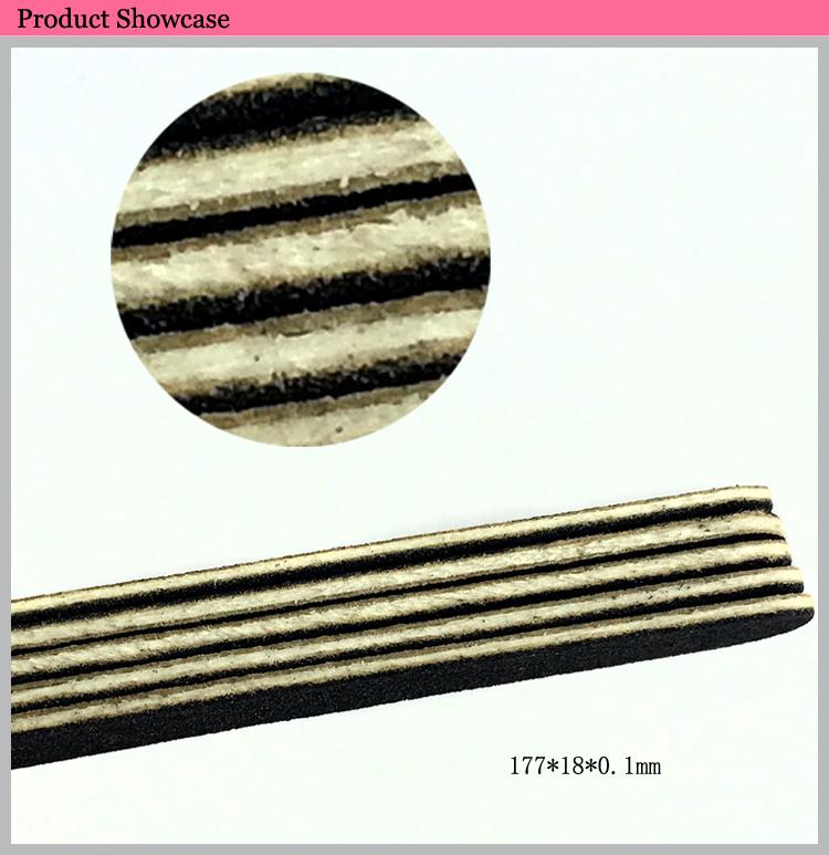 Sandpaper Pedicure Nail File Thin Nail File Manicure Emery Board ...