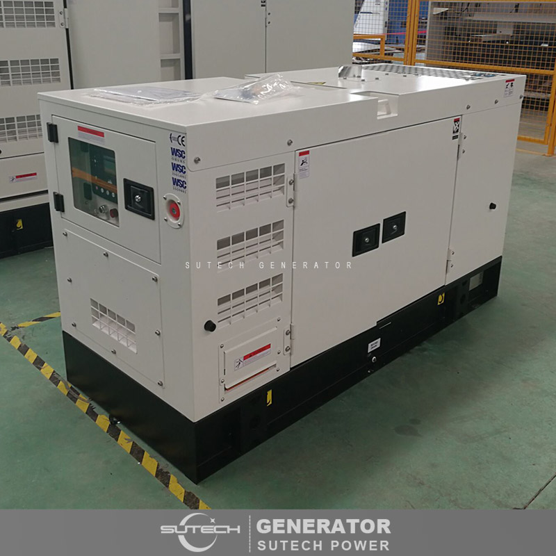 AC three phase 12kva diesel generator price with uk diesel engine