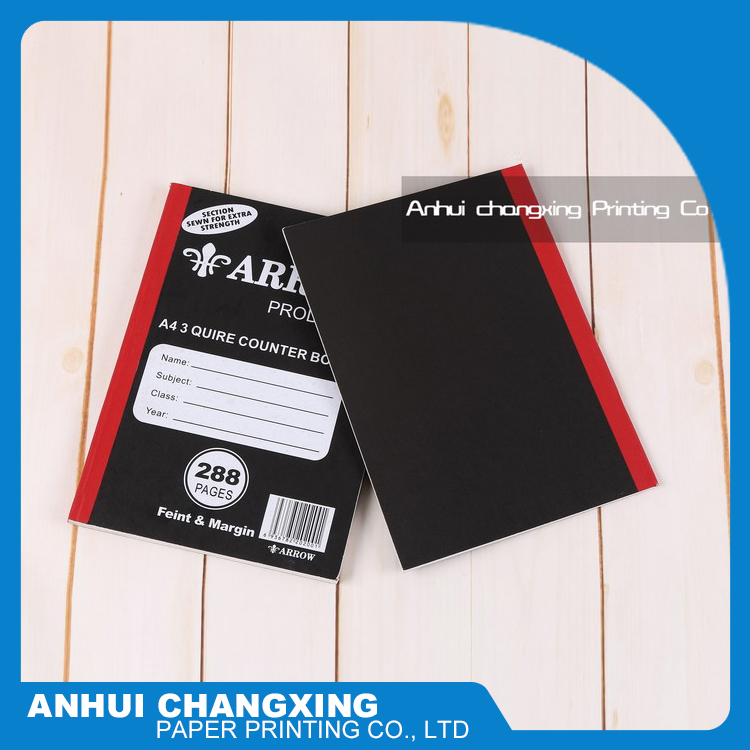 New product high quality made in China a4 counter books for schools