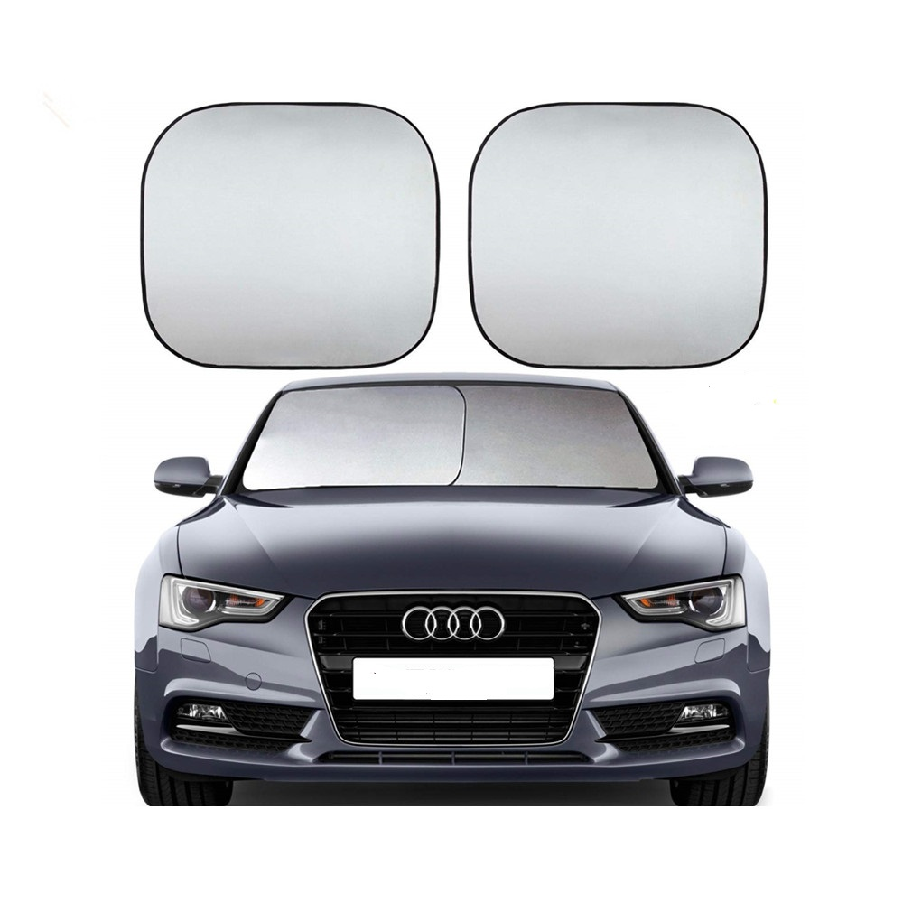 2pc front Windshield <strong>Sun</strong> Shade Universal Car Sunshades Keep Your Vehicle Cool. UV <strong>Sun</strong> and Heat Reflector. Max (Large) Size