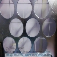 Galvanized perforated metal mesh home depot application