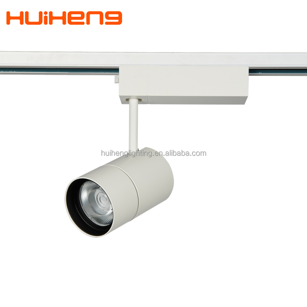 Commercial Shop high cri90 Cold white led track light 10w 15w 16w 21w 22w 23w 24w 25w 26w 27w 28w 29w