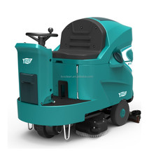 Multifunctional industrial ride on floor scrubber dryer cleaning machine
