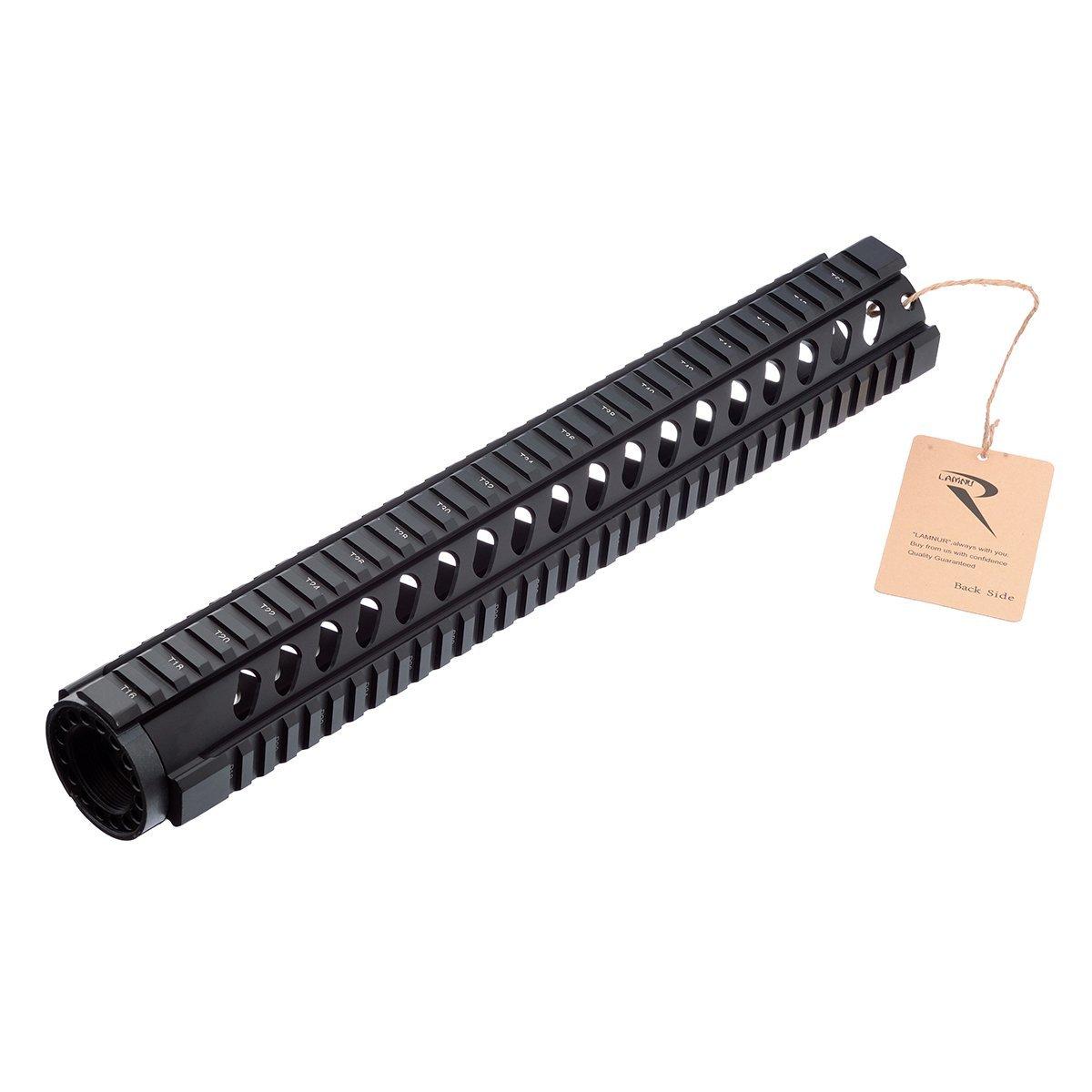 "LAMNUR CNC Aluminum Picatinny Rail System 4"",7"",10"",12"",15"""