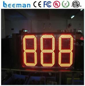 led solar outdoor light with timer two numbers 7 segment led display 0.5 inch red digital countdown timer
