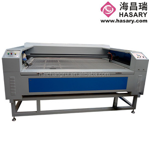 HL160100 80W co2 laser cutting machine/marking machine for ecco shoes