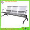 (SP-SC285) 3-seater waiting stainless steel bench seat metal gang chair