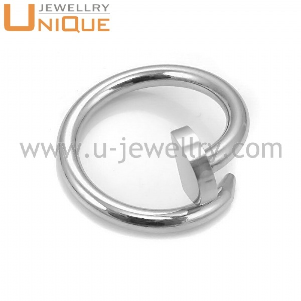 Fashion spikes stainless steel ring jewlry wholesale (R0019 )