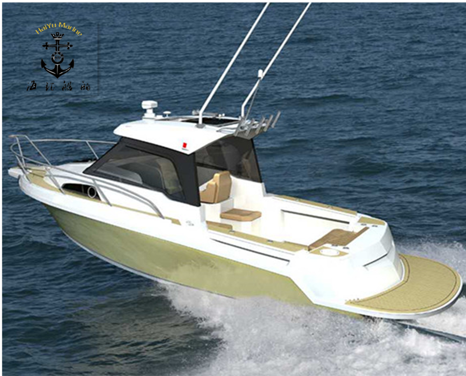 High speed aluminum fishing boat luxury yacht buy for Luxury fishing boats