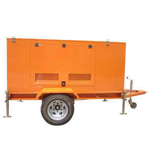 100KW Trailer Diesel Generator powered by Cummins engine