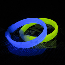 Event & party lichtgevende glow stick armband led wrist band met logo print
