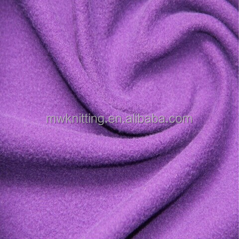 120GSM light weight single jersey brushed fabric super poly cloth fabric