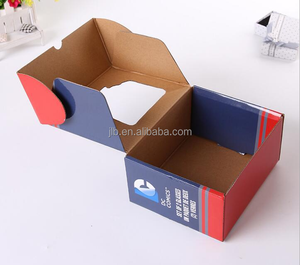 Custom design craft paper cartons corrugated box packaging folding box