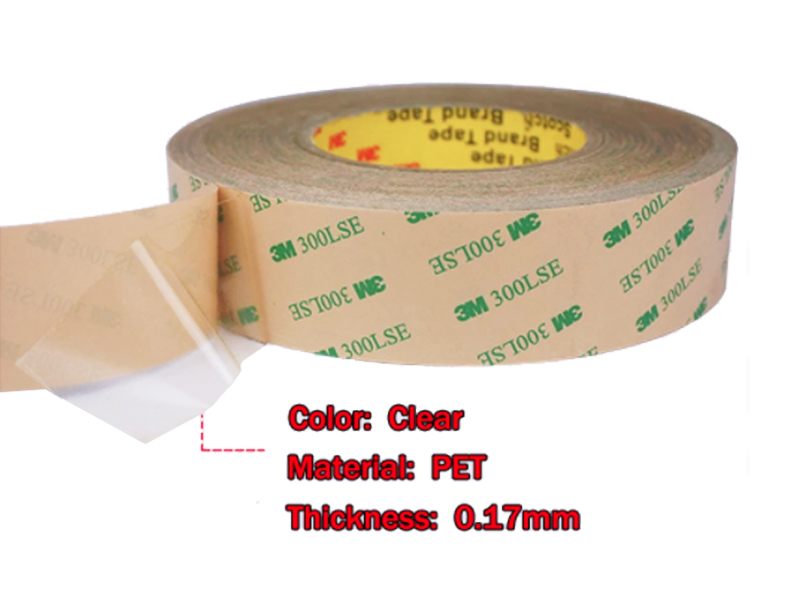 Free Samples!!! 3M 9495LE 300LSE Self Adhesive Double Sided Transfer Die-Cutting Tape