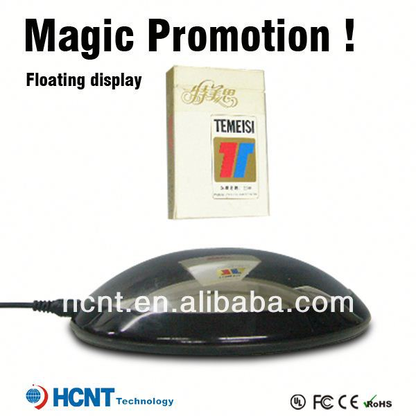 New invention 2013 !! Magnetic Floating pop display ,mobile phone security display holder