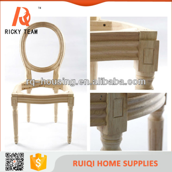 Louis Unfinished Wooden Chair Frame