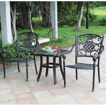 Muebles De Jardín Al Aire Libre De Aluminio Fundido Piña Shaoe ...