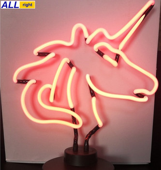 Customized Shape Desktop Neon Light Neon Sign Light
