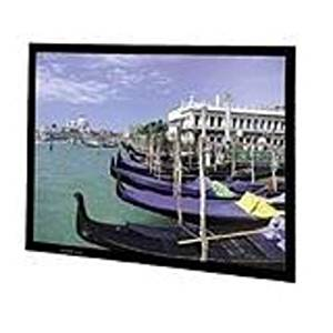"""Perm-Wall Fixed Frame Projection Screen Viewing Area: 52"""" H x 92"""" W"""