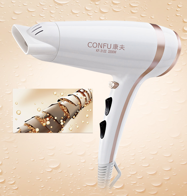 Fashional DC Motor Household Hair Drier Manufacture With Cool Shot Function