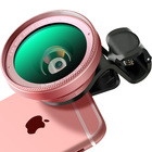APEXEL universal accessories 0.6x super wide angle lens for phone 2 in 1 smartphone macro lens kit