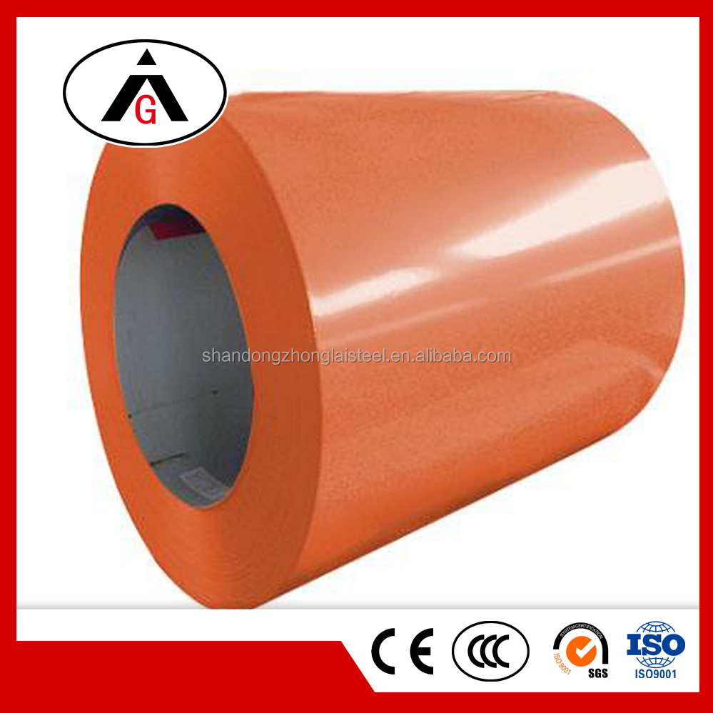Cheap Price PPGL Prepainted Cold Rolled Steel Coils For Roofing
