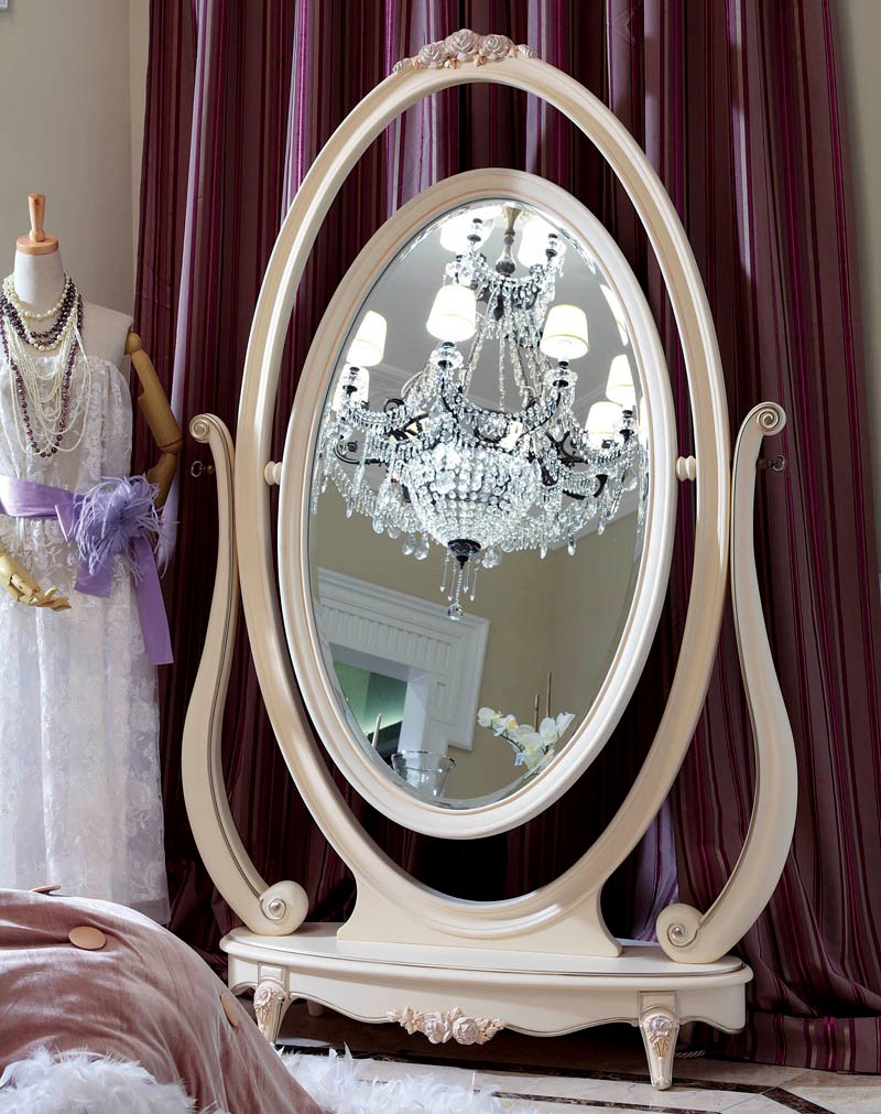 Yla9023 marcos de madera para espejo de maquillaje espejo for Disenos de espejos tallados en madera