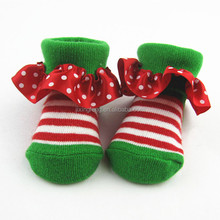 OEM high quality and comfortable cotton lace baby socks