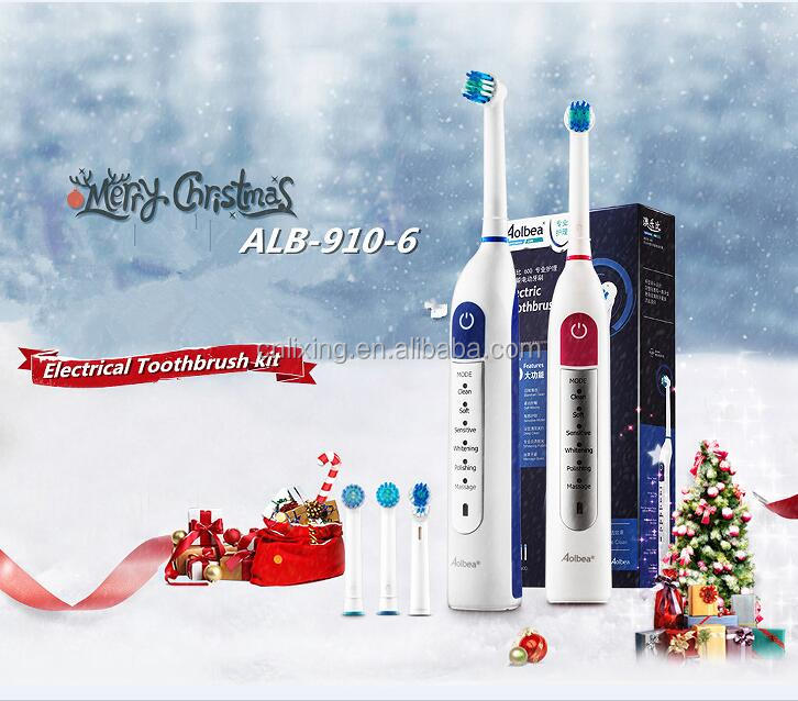 Adult dental battery charging electric soft toothbrush