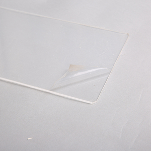 Clear polyethylene surface protection films tape for glass