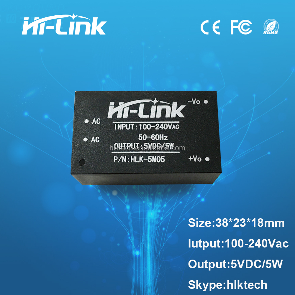 AC/ DC isolation 5w high quality power supply <strong>module</strong> manufacture HLK-5M05