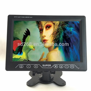 9 inch Portable DVB-T LCD TV/ Digital TV with DVB-T, Support USB flash disk