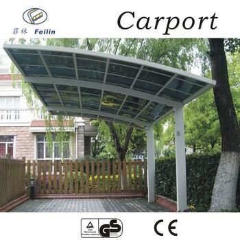 100 Anti Uv Aluminum Car Garage Polycarbonate Roofing For