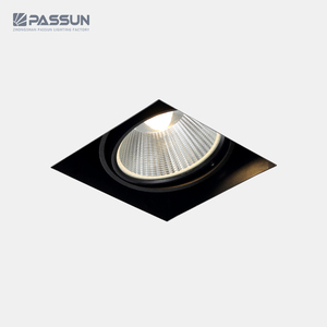 PASSUN indoor lighting 12W 900lm led spotlights with black painting