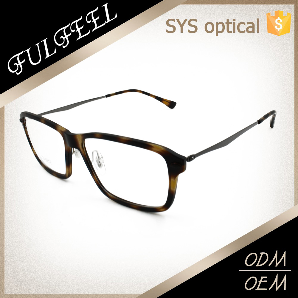 Pure TR material detective glasses men loved optical frame