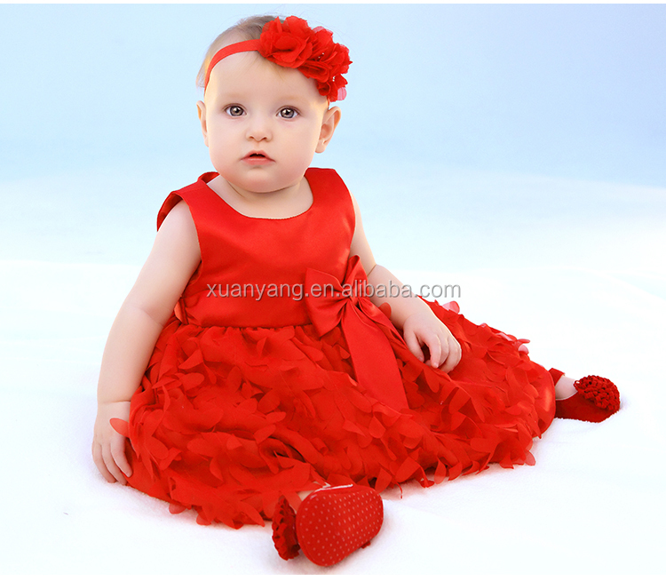 2016hot Sales Custom Baby Birthday Dress Formal Style