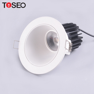 220V 230V high quality 10w recessed light downlight fixed ip20 fire-rated led cob down light