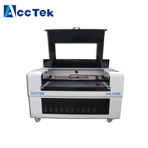 2018 Hot Sale Newest Personal Desktop Laser Cutter For Wood Acrylic MDF Plywood AccTek Laser Machine AKJ1390