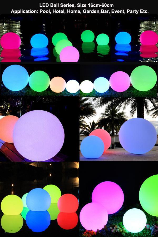 Floating Led Light Orbs Colorf